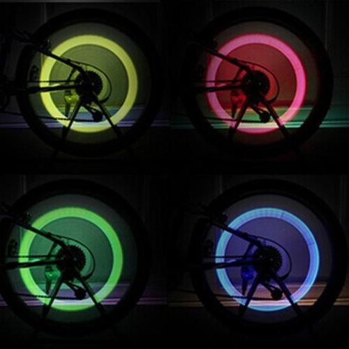 Led Flash Tyre Valve Cap Light Car Bike Wheel