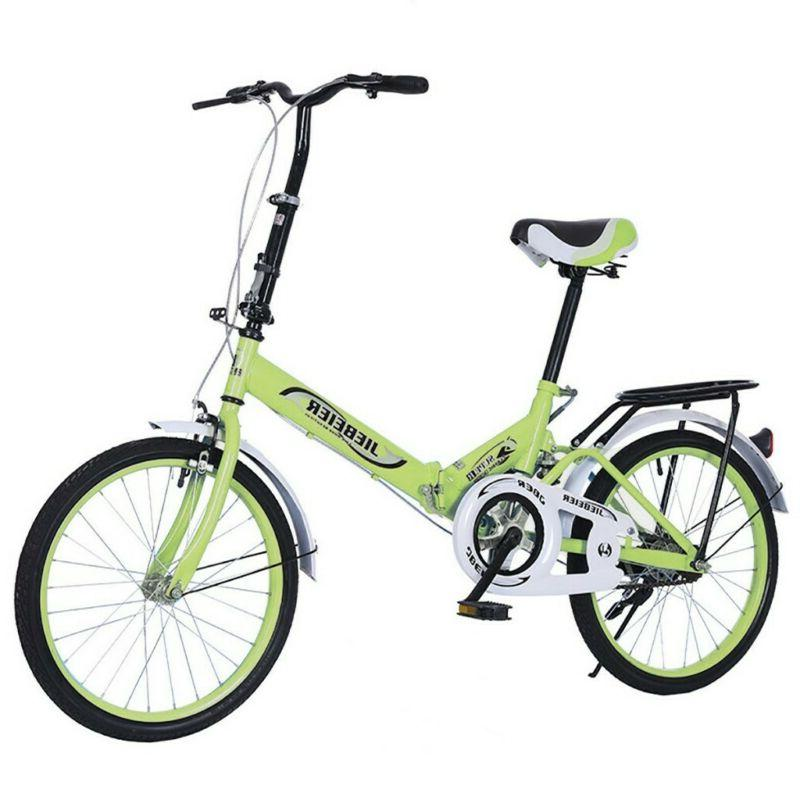 20in 7 Speed City Folding Compact Suspension Bike Bicy