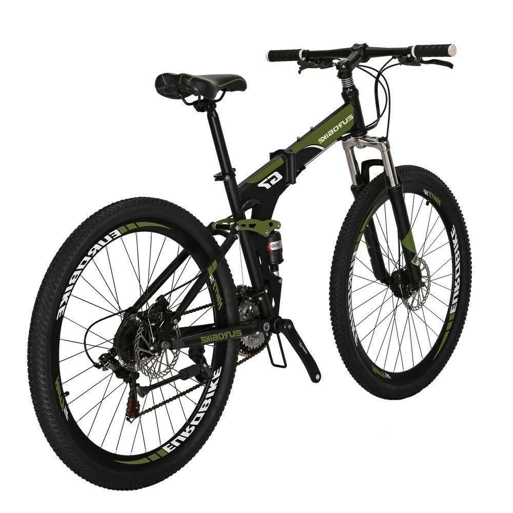 "Eurobike Speed Suspension Bicycle 27.5"" Brake"