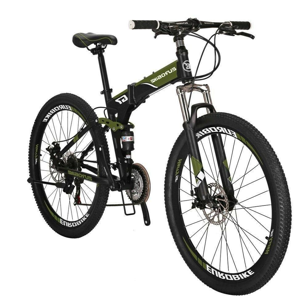 """Eurobike Bike 21 Speed Full Bicycle 27.5"""" Brake"""