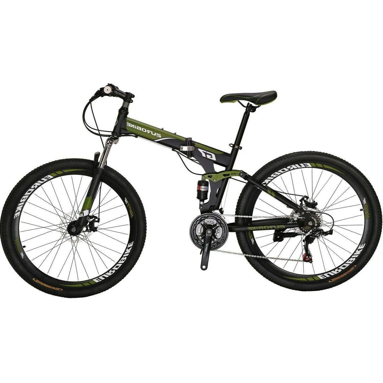 """Eurobike Bike 21 Speed 27.5"""" Mens MTB Brake"""