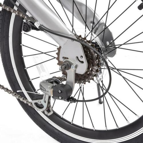 "20"" Folding Mountain Bike Speed Bicycles"
