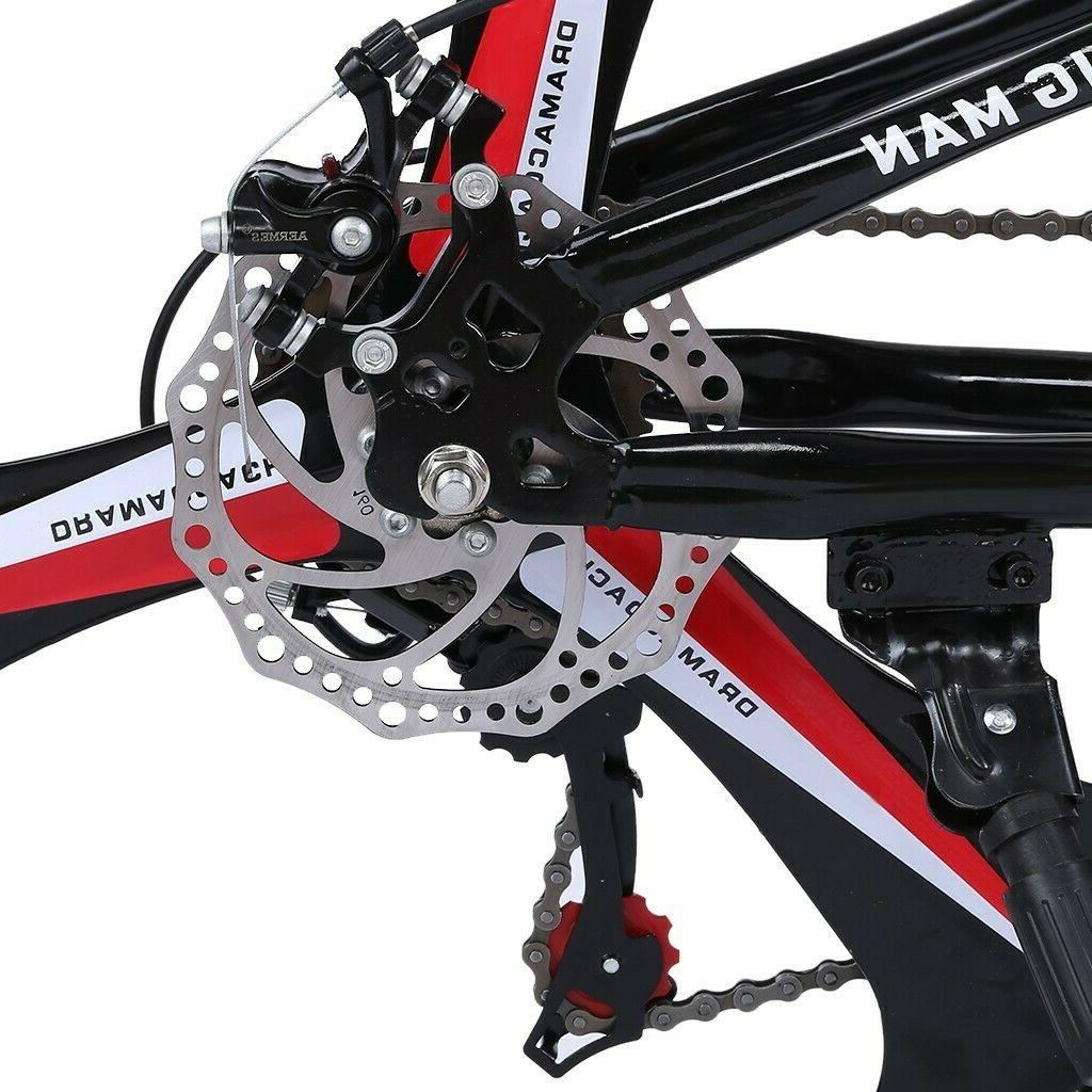 Folding/Full Mountain Bike Shimano Speed Bikes MTB
