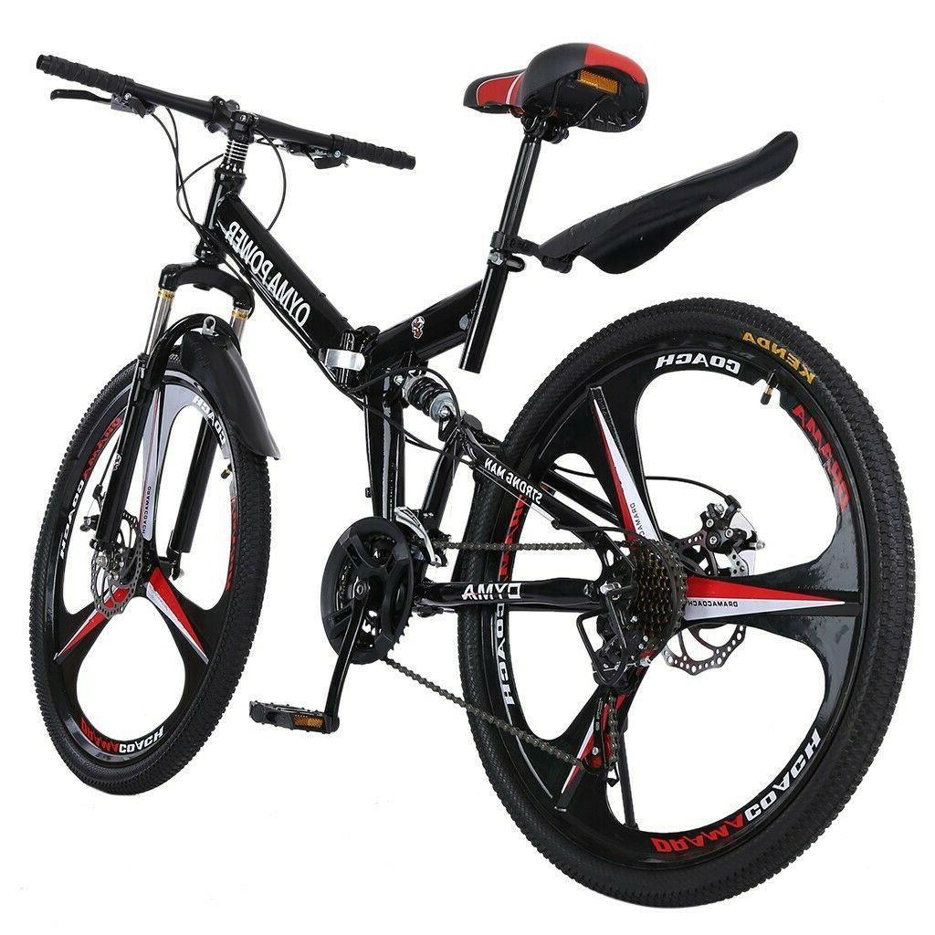 Folding/Full Suspension 26in Mountain Bike Shimano Bikes