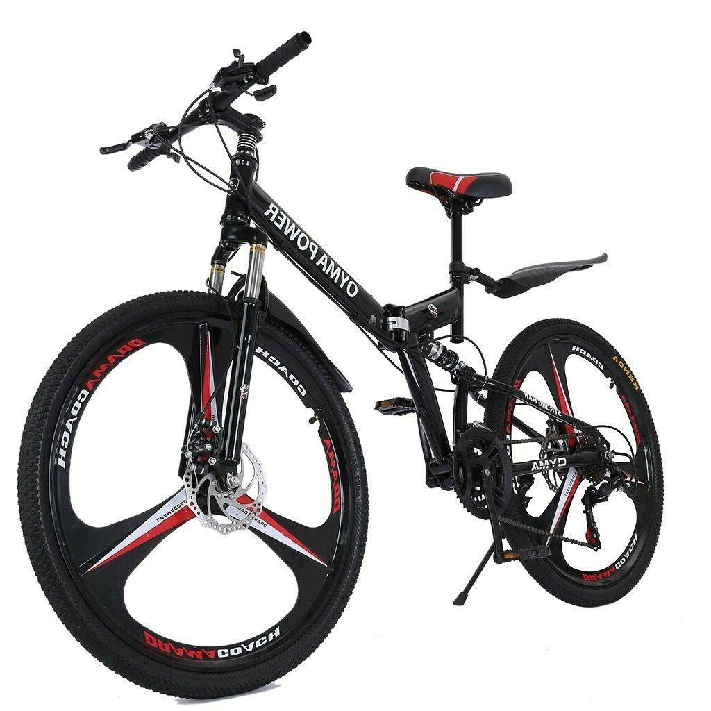Folding/Full Suspension Bike Shimano Bikes MTB Bicycle