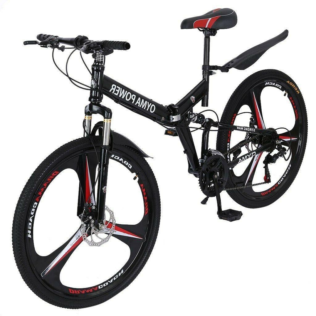 Folding/Full Suspension 26in Mountain Bike Speed Bikes