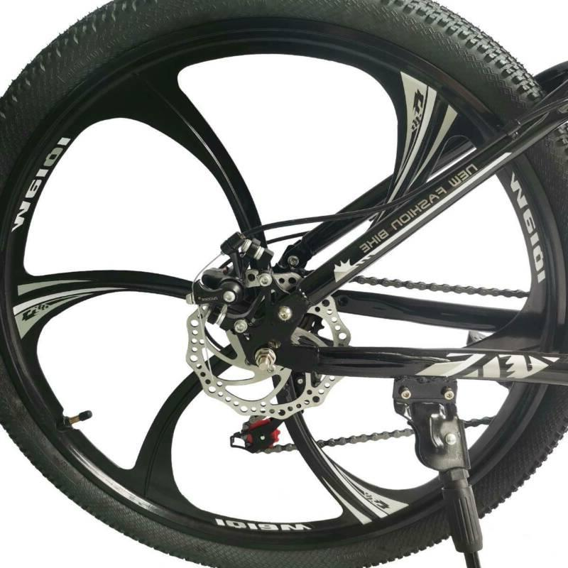 Folding Mountain Bike Full Bicycle Speed MTB
