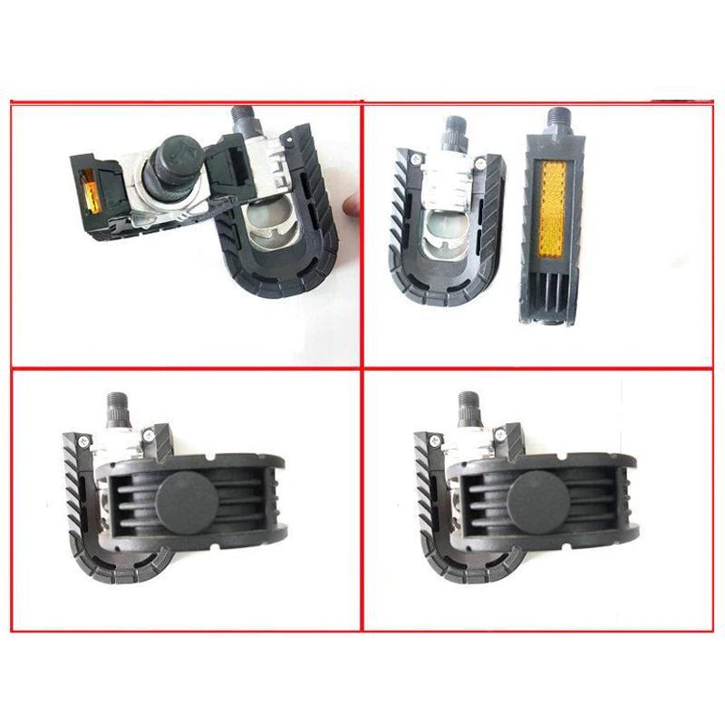 Folding Pedals Aluminum Sealed