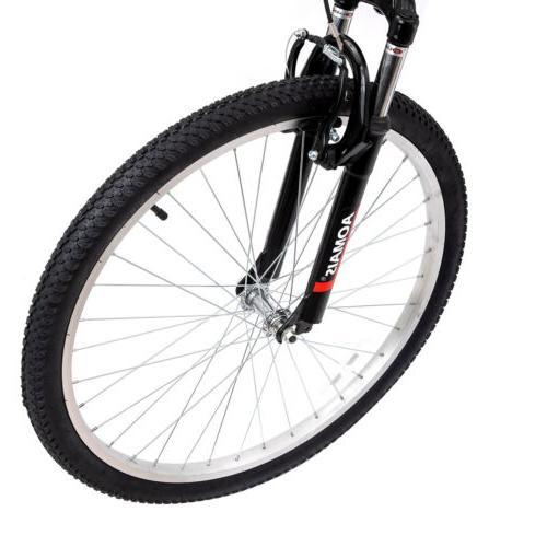 """26"""" Folding Foldable Hybrid Bike 7 Speeds Full"""