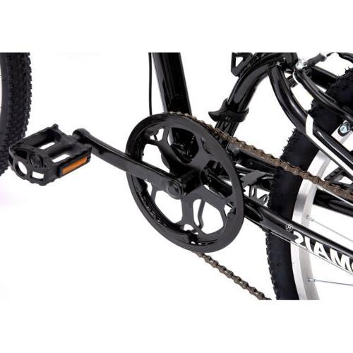 """26"""" Folding Foldable Hybrid Speeds Full Suspension"""