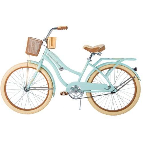 New Girls Huffy 54578 Nel Lusso 24 inch Cruiser Bike - Mint