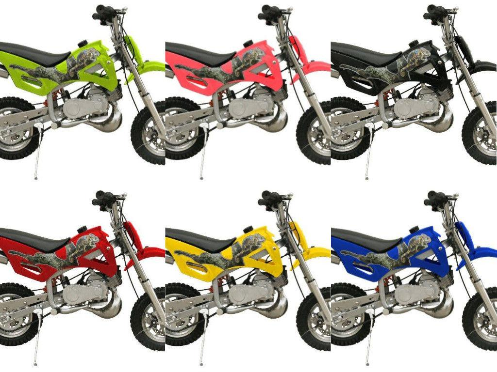 Kids Beginner Bike 49cc COOLSTER 2 Stroke Gas Motor Dirt Bik