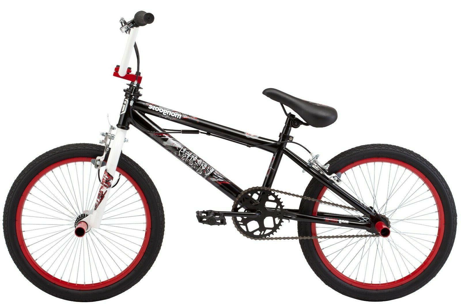 Mongoose BMX Free style Bike Bicycle Black White