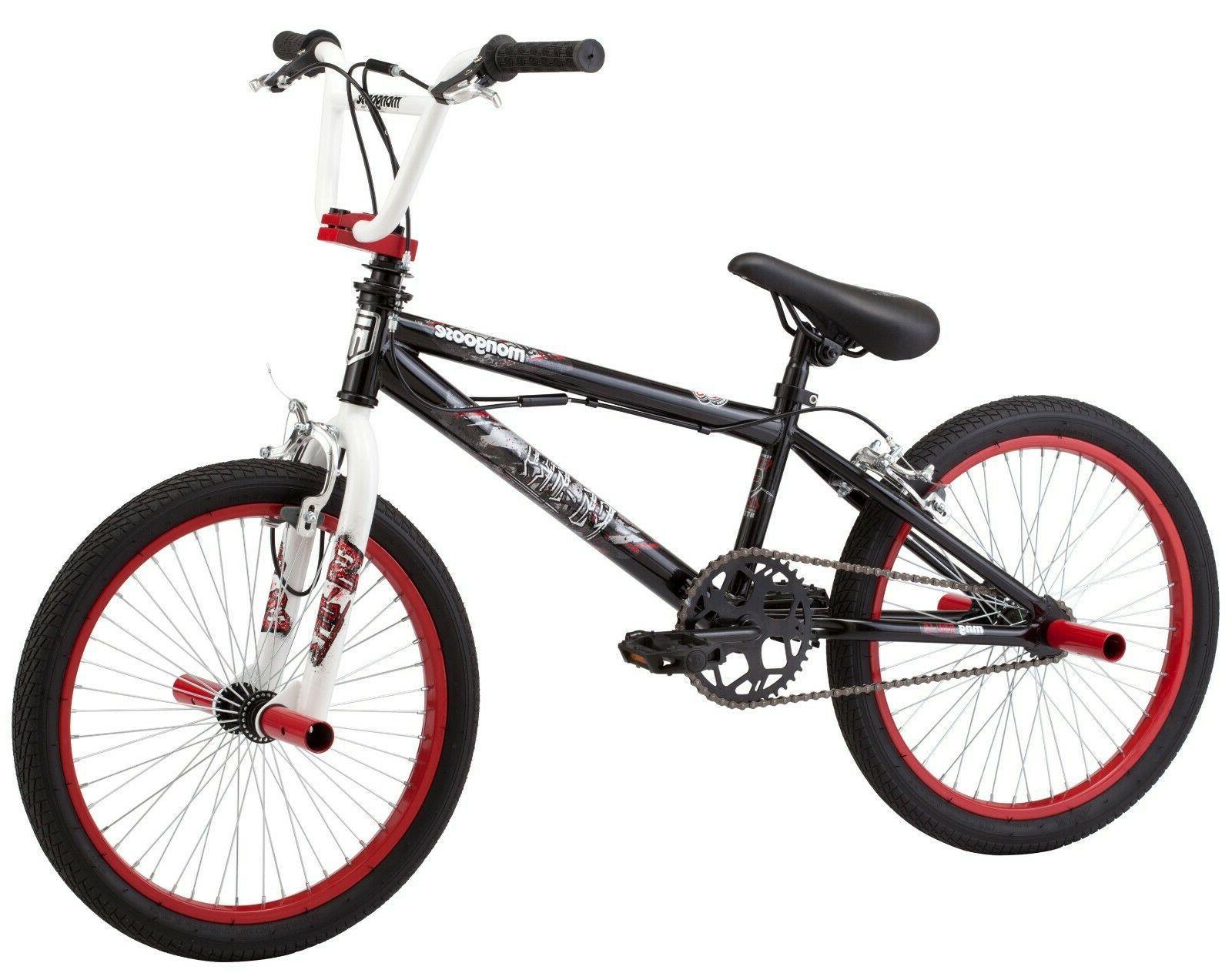 Mongoose FS Sky Kids BMX Free style Bike Bicycle Black White