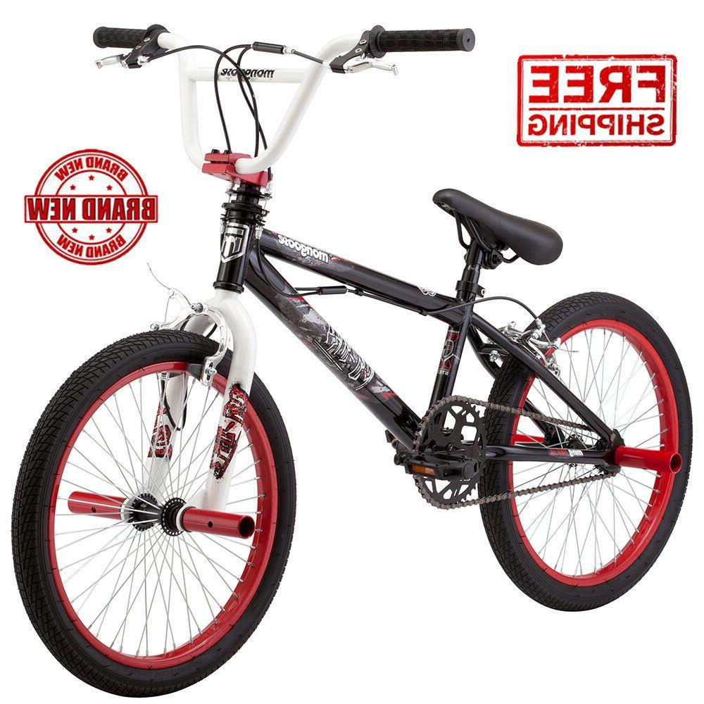 Mongoose FS Sky Kids BMX Free style Bike Bicycle 20-inch Whe