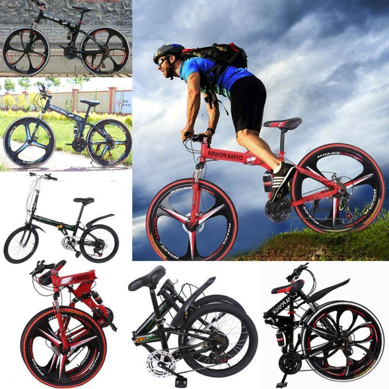 full suspension folding mountain bike 26 21