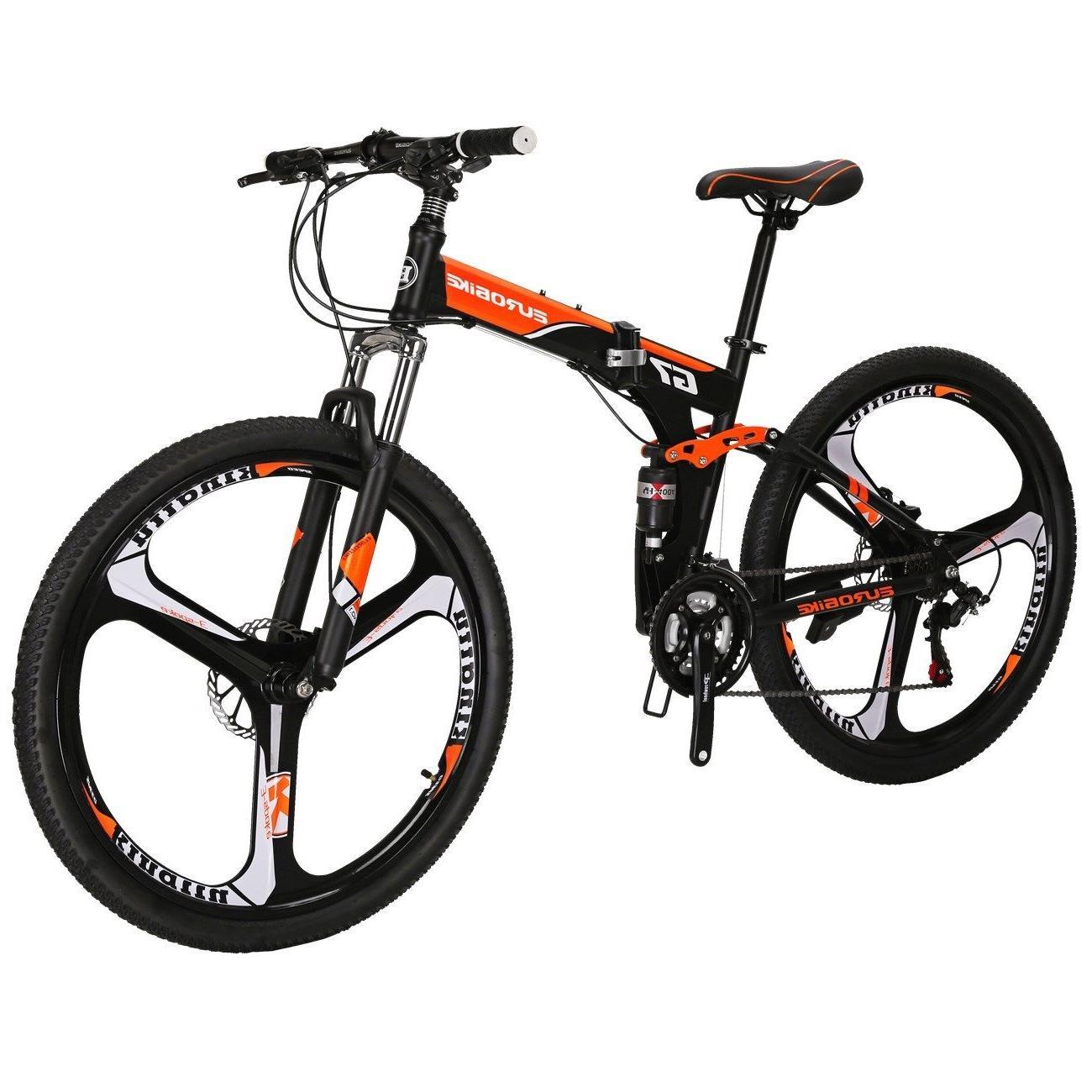 Full Bike Mens Bicycle 21 Speed wheels