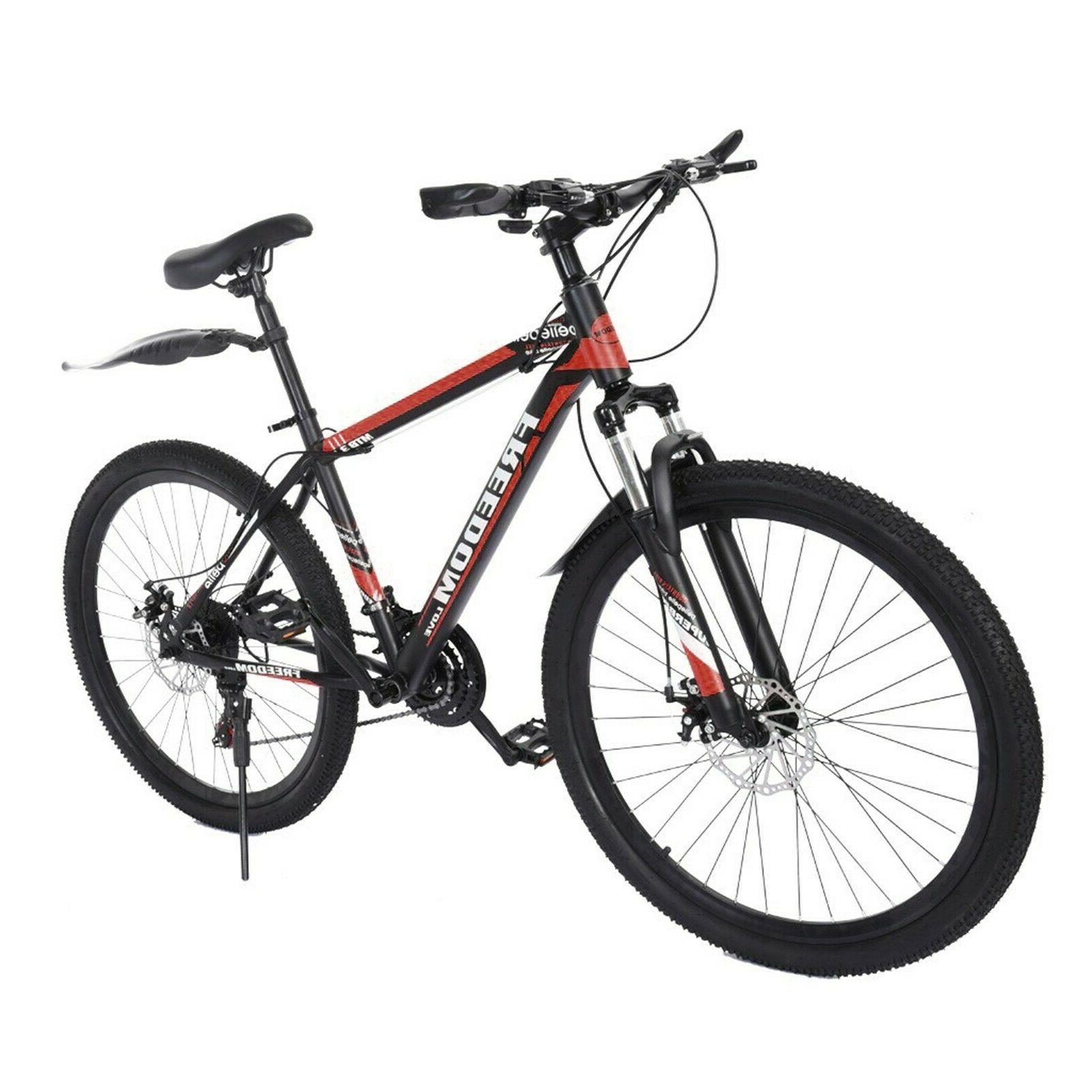 Full 21 Speed Disc Brake Women&Men's Bikes Bicycle MTB