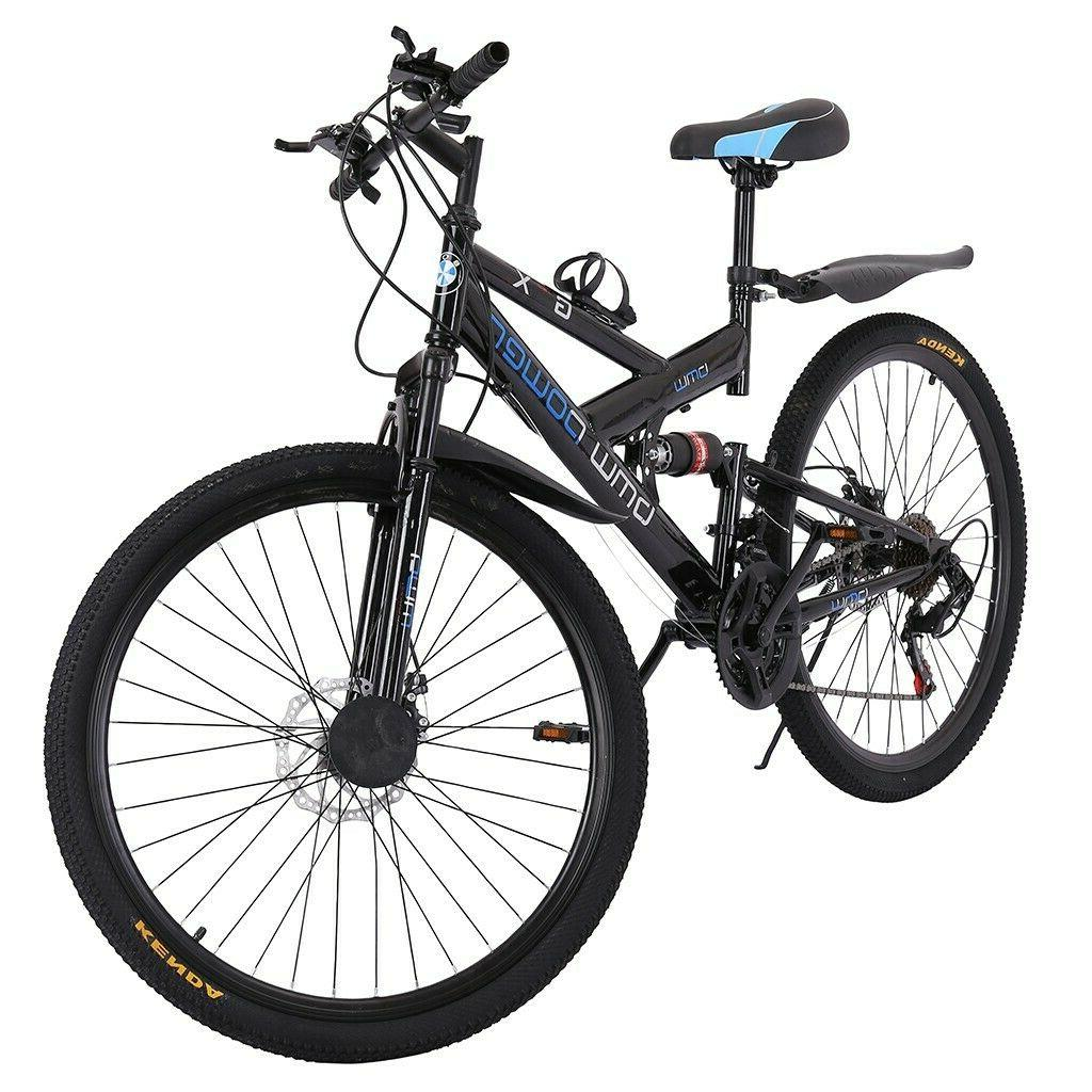 Full Suspension Mountain 21 Speed Brake Women&Men's Bikes Bicycle