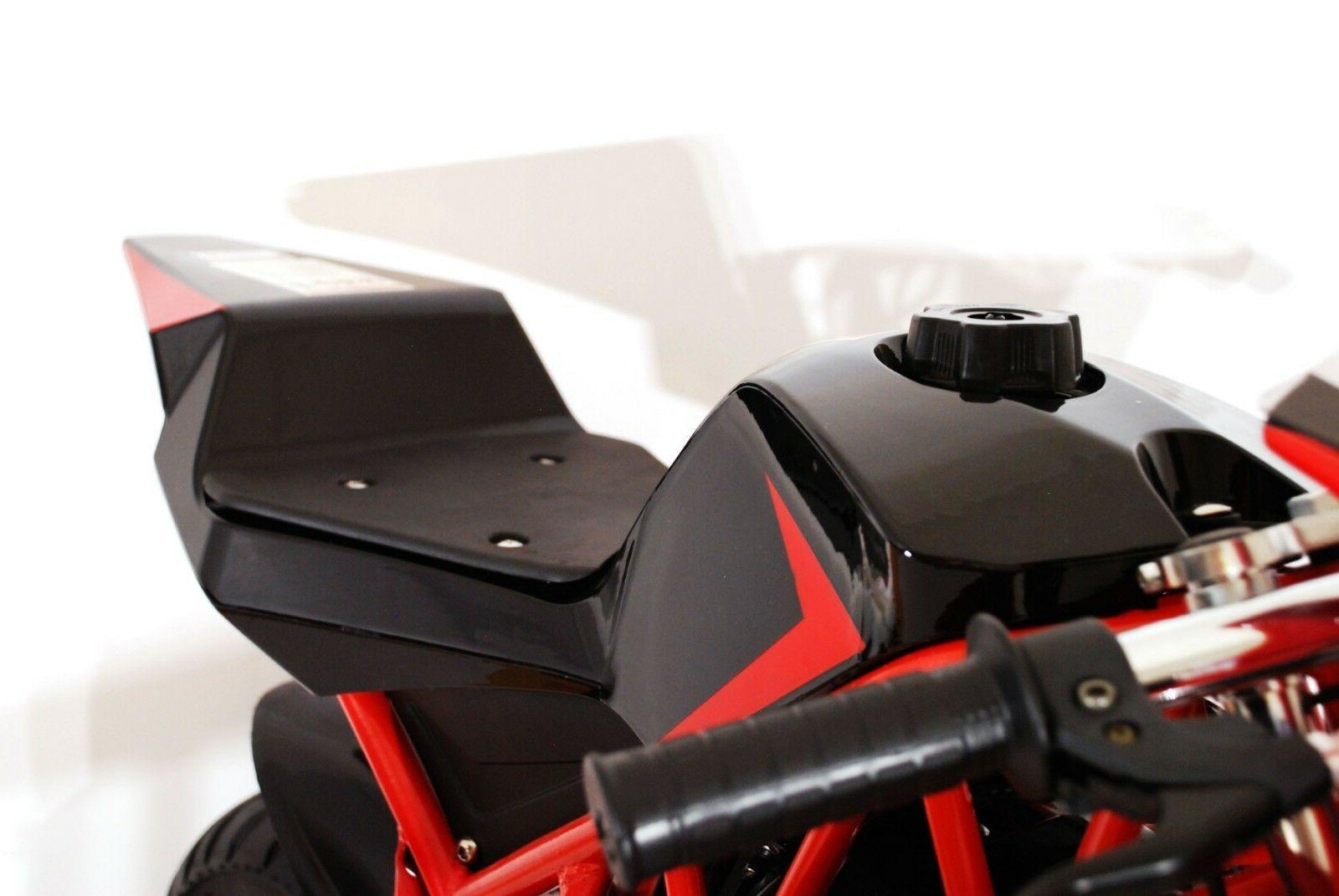 Gas Pocket Bike, dual exhaust