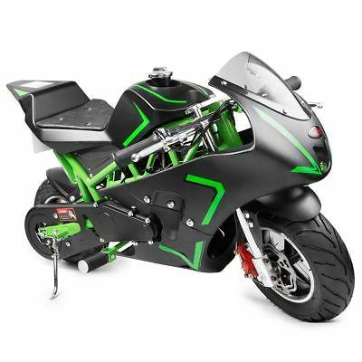 XtremepowerUS Gas Pocket Bike motorbike Scooter 40cc Epa eng