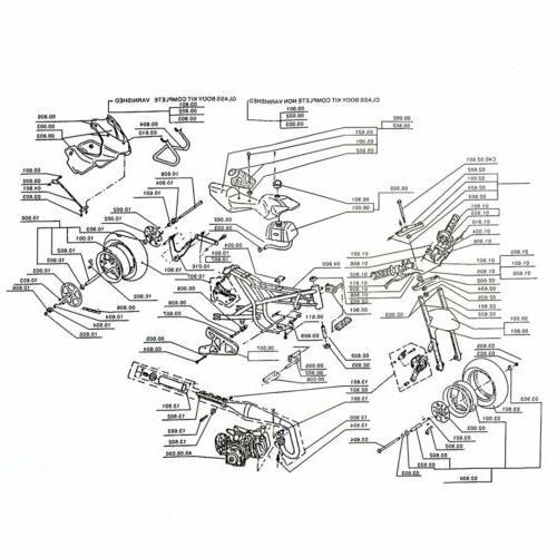 Mini Powered 49CC Engine 1.8L Fit Teens/Kids