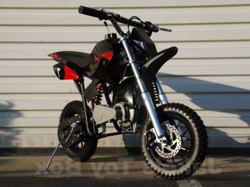 Gas Dirt Bike Black Red