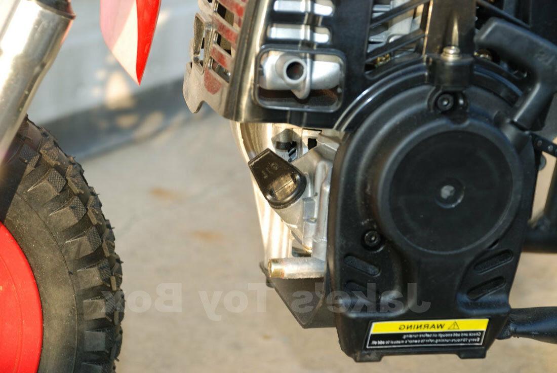 Gas Dirt Bike Bike - Black Red
