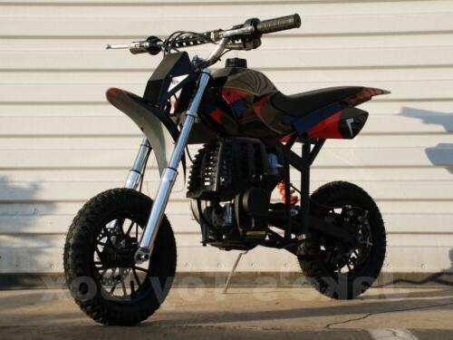 Gas Powered Dirt 40cc Bike Red