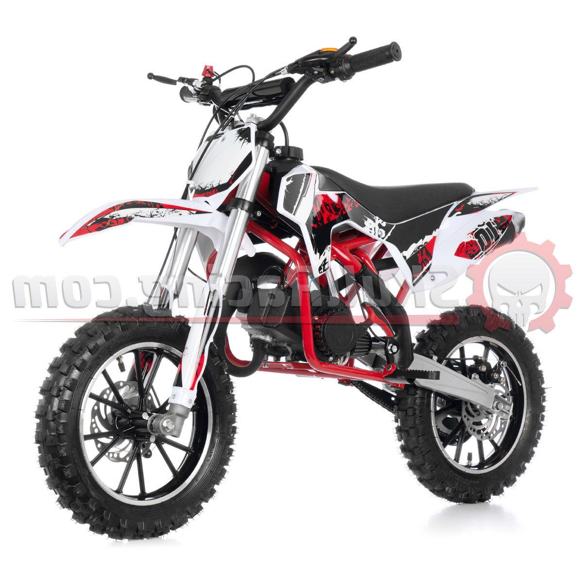 SkullRacing Powered Kids Mini Bike 50RR