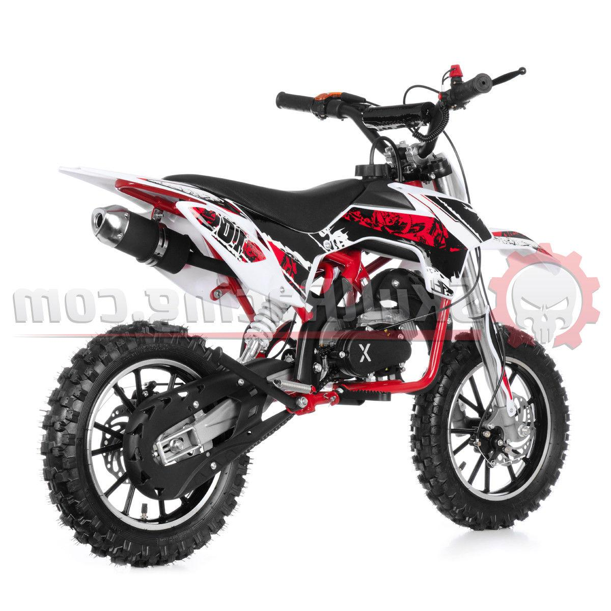 SkullRacing Gas Powered Kids Mini Dirt 50RR