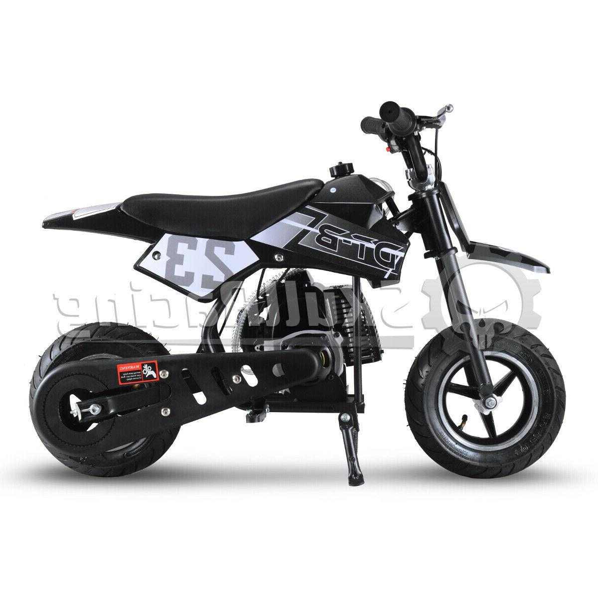 SkullRacing Mini Pocket Dirt Bike Motorcycle