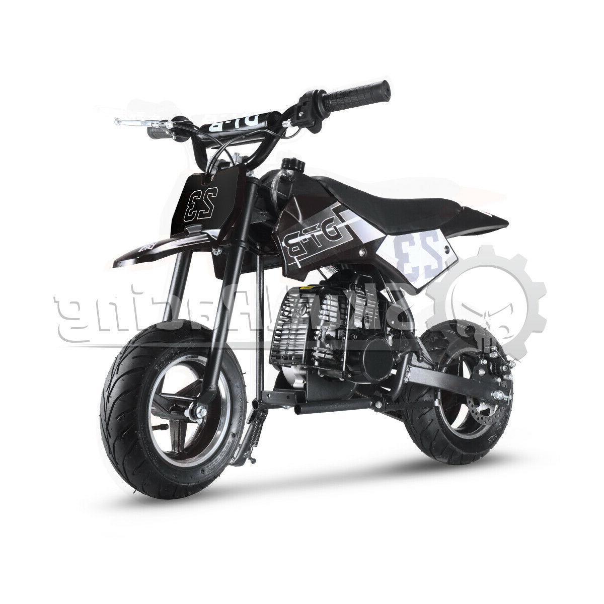 SkullRacing Powered Mini Pocket Motorcycle
