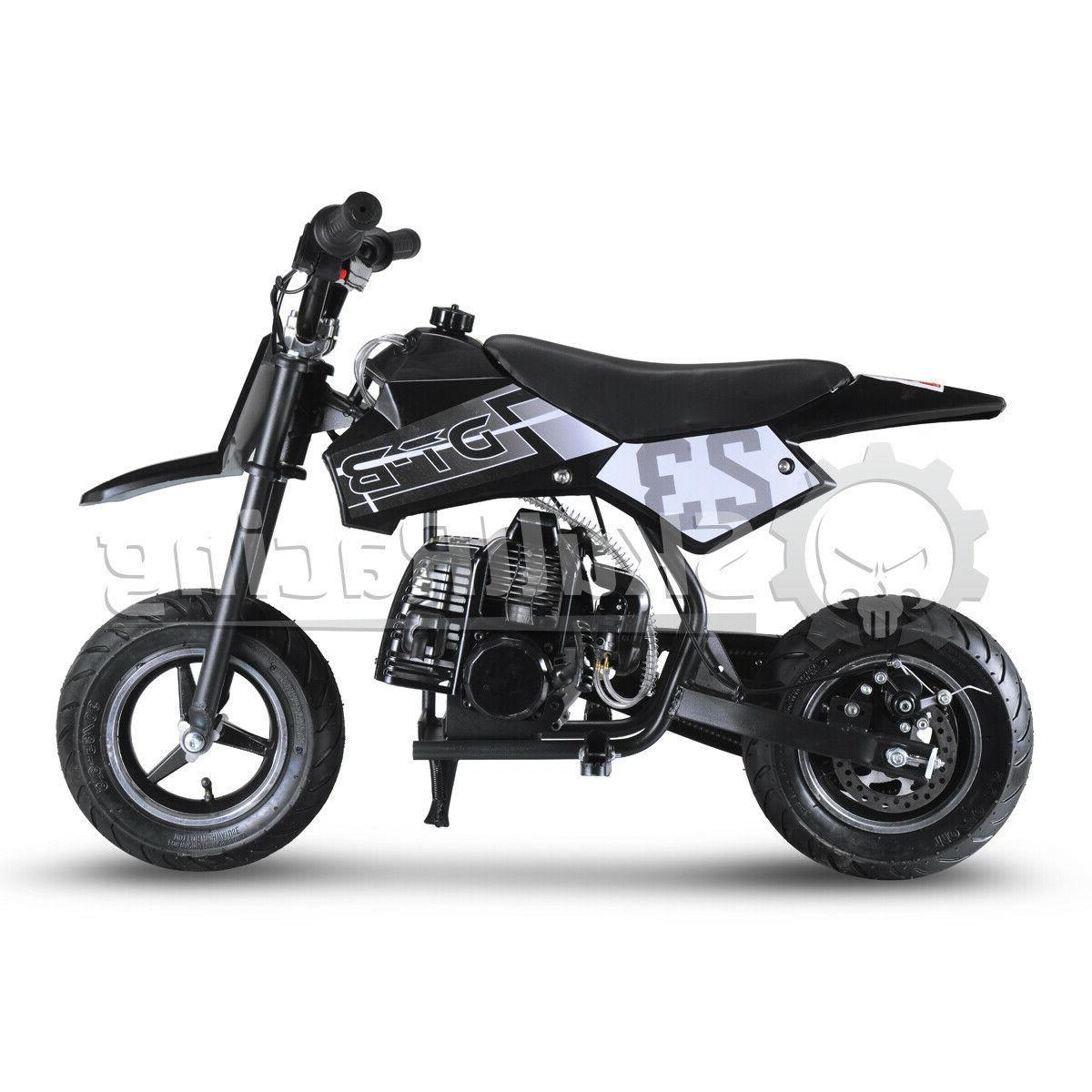 SkullRacing Powered Mini Pocket Bike Motorcycle