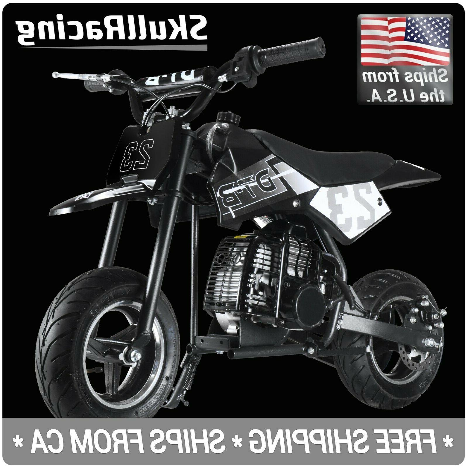 gas powered kids mini pocket dirt bike