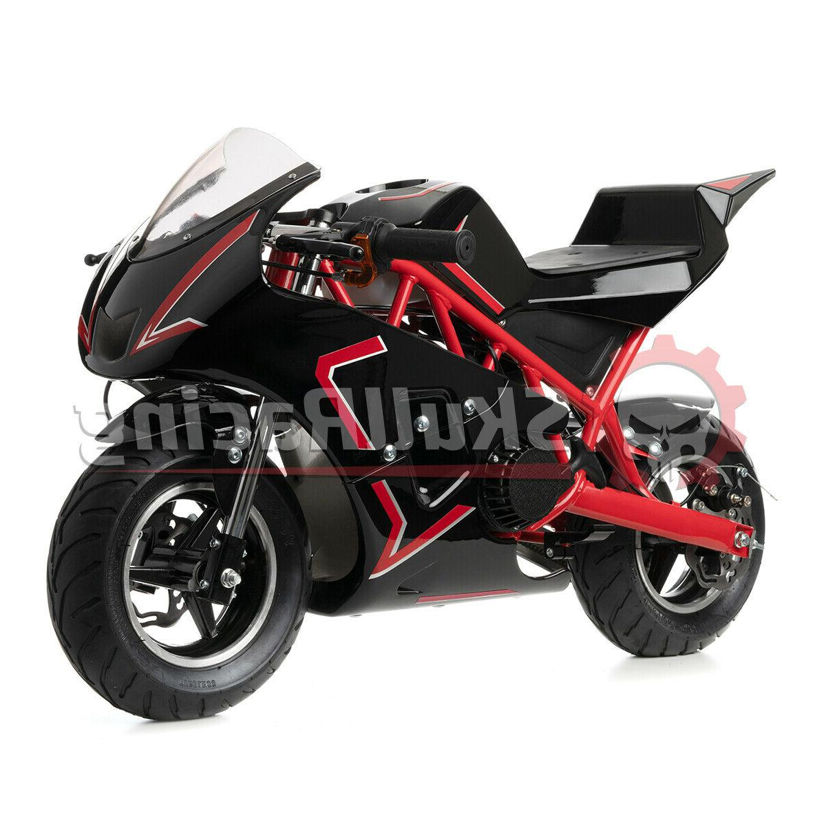 SkullRacing Gas Pocket Bike 40RR