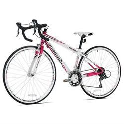 Giordano Libero 1.6 White/Pink Womens Road Bike-700c