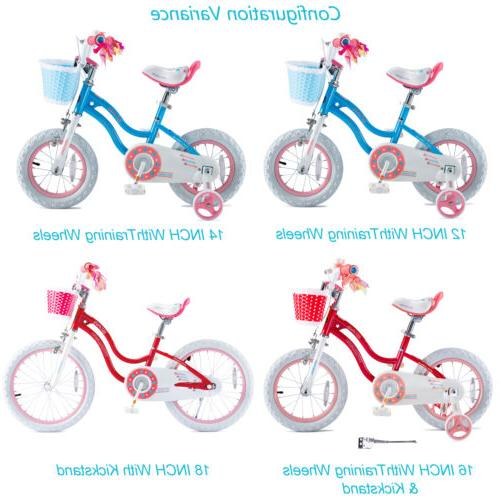Girls 18 for 5-9 Years Old Child's Cycle and Kickstand