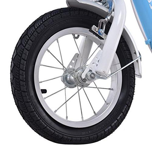 """Goplus and Girl's Training Wheels Perfect Gift 16"""""""