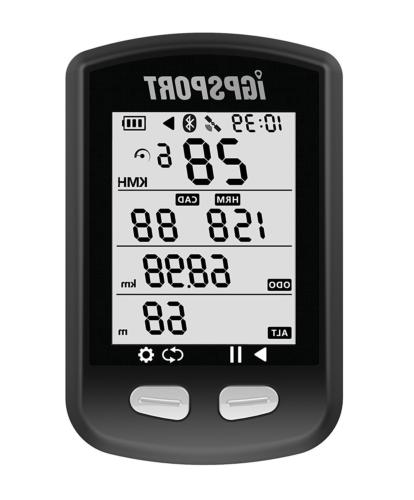 GPS Bike Computer iGPSPORT iGS10 Cycling Computer ANT+ Funct