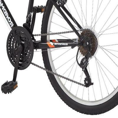 Roadmaster Peak Mountain Bike inch wheels Black