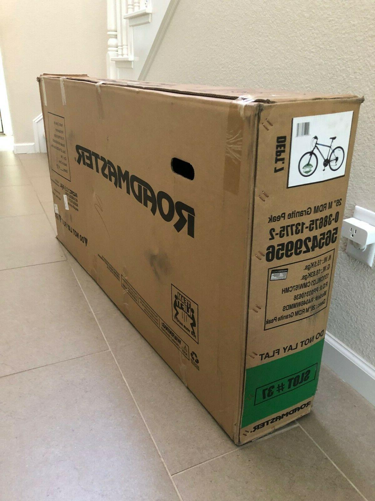 """Roadmaster Granite Peak Men's Mountain Bike Bicycle 26"""" NEW"""
