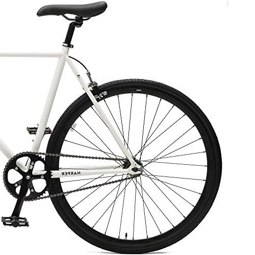 Critical Harper Fixed Gear Commuter Bike; 57cm, Black