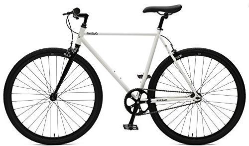 Critical Cycles Harper Fixed Gear Bike; White Black