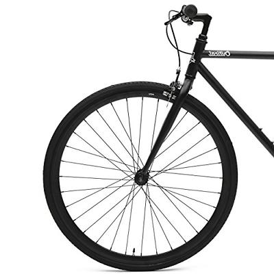 Critical Cycles Single-Speed Fixed Gear Bike; 57cm,