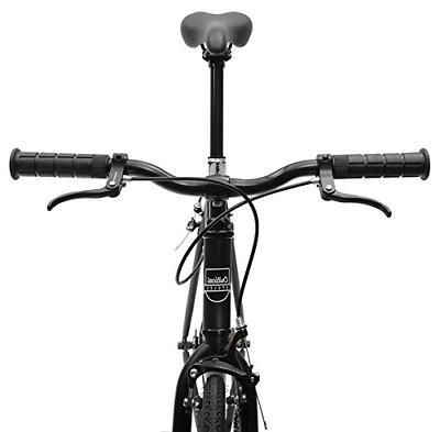 Critical Single-Speed Fixed Commuter Bike; 57cm, Matte