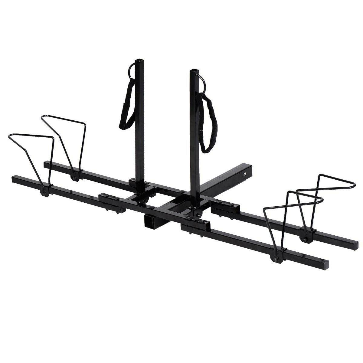 Heavy Bike Bicycle Hitch Mount Carrier Rack Truck SUV