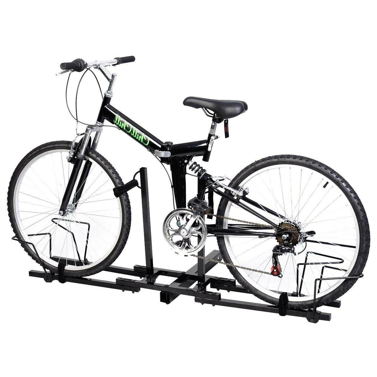 Heavy Upright 2 Bike Bicycle Carrier