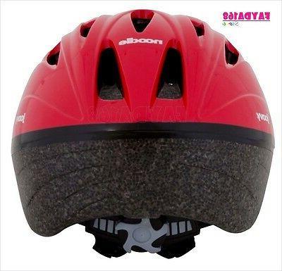 Helmet Red 14 Vents Kids Children Activity Scooters Bike Outdoor
