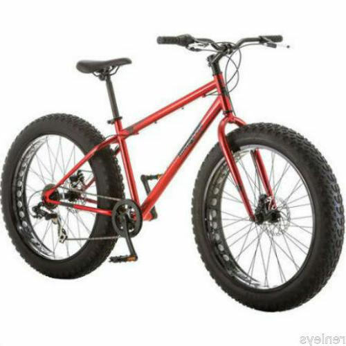 "NEW 26"" Mongoose Hitch Fat Tire Men's 7-speed Mountain Bike"